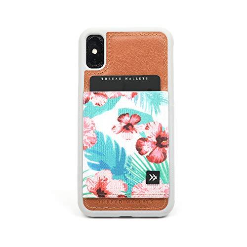 Thread Wallets - Slim Minimalist iPhone Wallet Case - iPhone 10/iPhone X (Malibu)