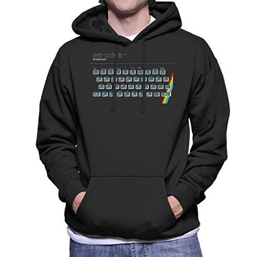 Men's Sinclair ZX Spectrum Hoodie, Black, S to XXL