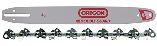 "Oregon 180SDEA041 18"" Chainsaw Bar + Oregon 91PX062G 62 Drive Link Chainsaw Chain Loop Combo"
