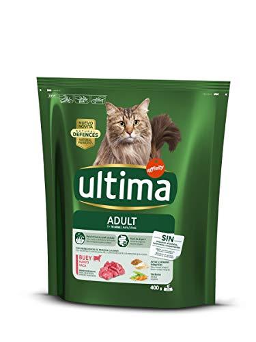 Ultima Gato con carne 8 bolsas x 400 g