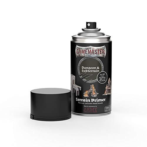 The Army Painter   Gamemaster   Terrain Primer   300 ml   Acryl-Sprüh Farbgrundierung für Tabletop-Rollenspiele, und Wargames Miniatur-Szenenbau   Dungeon & Subterrain