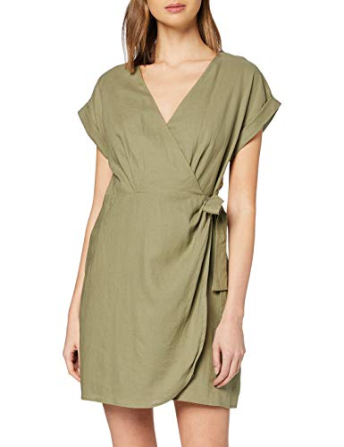 Pepe Jeans Vestido, Verde (Thyme 732), Large para Mujer