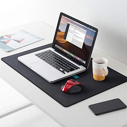 Wasser-resistent Große Mauspad,Multifunktionale Schreibtischunterlage Mousepad Protecter,Ergonomische Gaming Mauspad Für Laptop Computer Pc Schwarz 30x90cm(12x35inch)