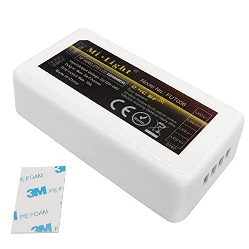 ZHITING Mi-Light Controlador RGB 4 zonas para tiras LED...