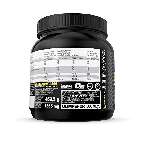 Olimp L-Glutamine Mega Caps, 300 Kapseln, (1 x 469.5 g) - 3