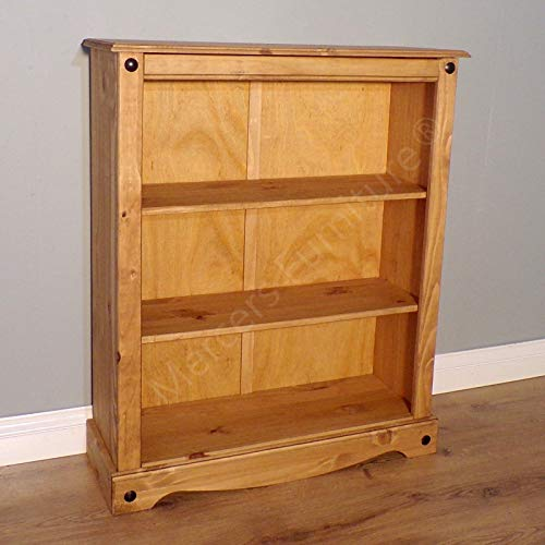 Mercers Furniture Corona Kleines Bücherregal Holz antique wax 84 x 29 x 100 cm