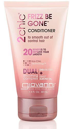 Giovanni Cosmetics 2chic Shea Butter & Sweet Almond Oil Conditioner, 1.5 Oz