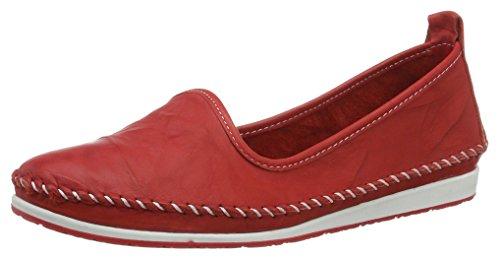 Andrea Conti Damen 0027449 Slipper, Rot (Rot 021), 36 EU
