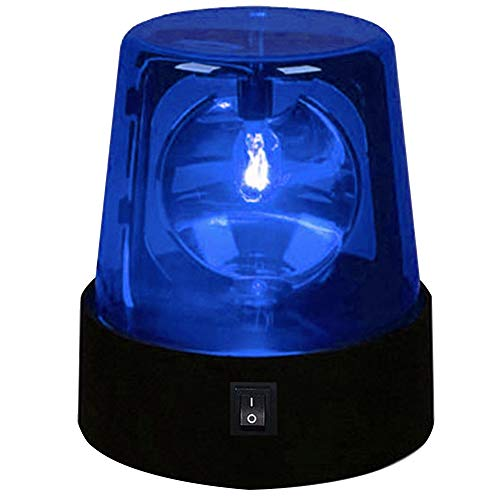 MAYiT LED Strobe Light, Disco Party Rotating Lamp DJ Flashing Stage Lights Police Car Beacon Siren Strobe Light with Switch Control for DJ Show Bar