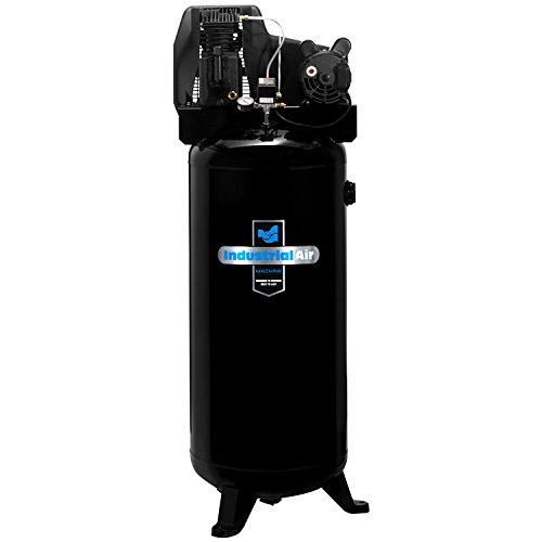 Industrial Air ILA3606056 60-Gallon Single Stage Cast Iron Twin...