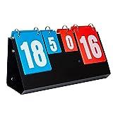 QiHaoHeji Score Flip tabellone segnapunti Scoreboard Game Game Dedicato Tabank Parer Pieghevole Portatile per Inviare Il fischio dell'arbitro (Colore : 2, Size : 40x21x11cm)