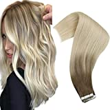Best Tape In Hair Extensions - VeSunny Tape in Extensions Ombre Blonde Tape in Review