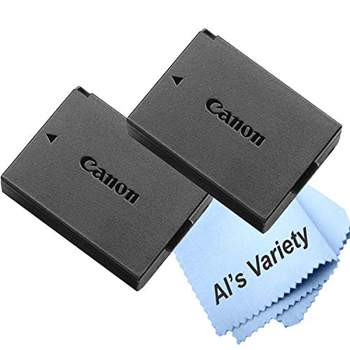 2-Pack Canon LP-E10 Lithium-Ion Battery Pack for Canon Eos Rebel T3, T5, T6, T7 (Bulk Packaging)
