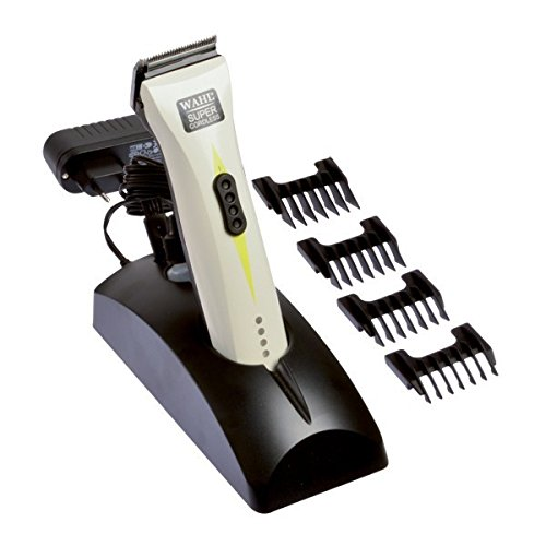 Wahl 1872 SuperCordless Professional Cord/Cordless Hair Clipper White
