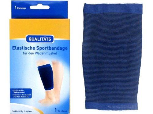 Qualitäts Wade Waden Sportbandage Bandage elastisch, Gr. XL