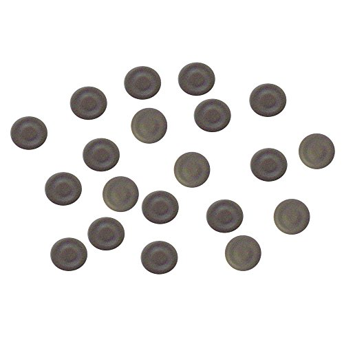 Imã para Quadro Magnético Grafite Redondo 13mm, Cortiarte, 402