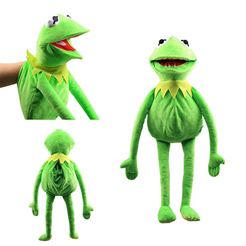 N/K Kermit Frog Puppet Show Plush Toy Sesame Street Doll Children's Gifts