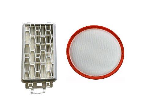 Green Label Filterset (Motorschutzfilter und Ausblasfilter) für Dirt Devil Staubsauger (Vergleichbar mit 5510001)