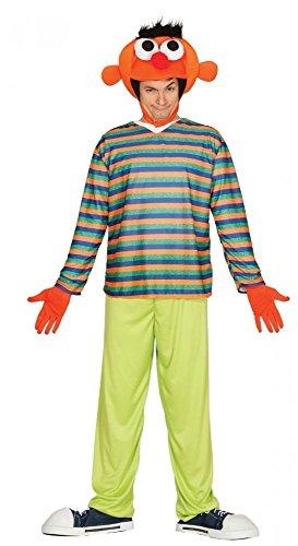 shoperama Ernie Bert Herren-Kostüm Gr. M/L, Namen:Ernie