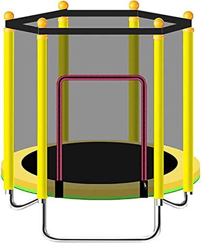 Binnen of buiten Trampoline Oefening - 1.2M Folding Trampoline, Bearing 250Kg, ideaal voor ouder-kind Sport, het vrijmaken van energie voor kinderen,Yellow