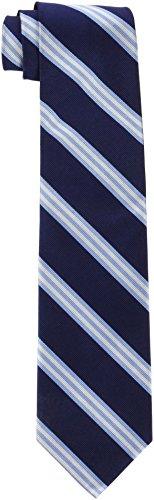 Brooks Brothers 100002852 Cravatta, Blu (Navy), One Size (Taglia...