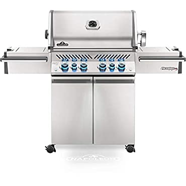 Napoleon PRO500RSIBNSS-3 Prestige Pro 500 Natural Gas Grill w/ Infrared Burners