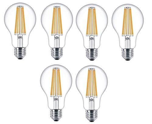 Attralux LEDclassic Lampe ersetzt 100W E27 warmweiß (2700 Kelvin), 1521 Lumen, 6-er Pack