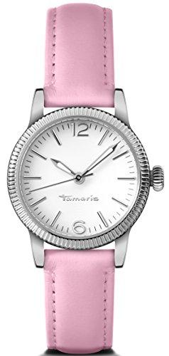 Tamaris - B11022010 - Montre Femme - Quartz - Analogique - Aiguilles lumineuses - Bracelet cuir rose
