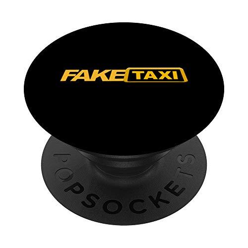 Diseo grfico amarillo divertido | Disfraz de camiseta de PopSockets PopGrip: Agarre intercambiable para Telfonos y Tabletas