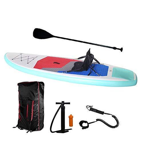 MROSW Surfbrett 320X80X15CM Inflatable SUP Stand Up Paddle Board Angeln Kajak Boot Leg Leine Sitz Faltbare Schlauchboot