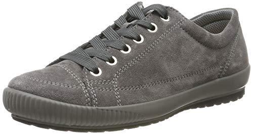Legero TANARO-Sneaker, Damen Niedrig- Anderes Leder, Grau (Fumo (Grau) 22), 38 EU (5 UK)
