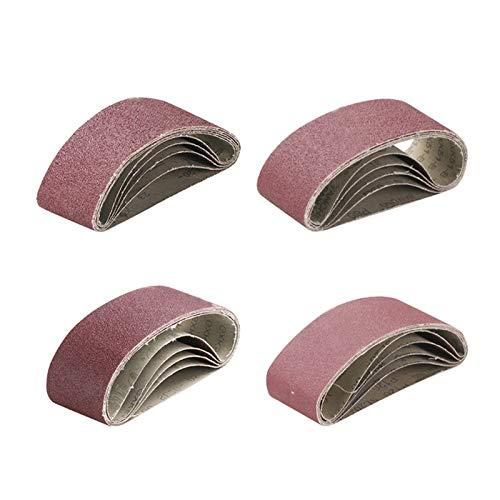 Schleifband 5 Stück/Schleifbänder/400x60mm / Schleifpapier/Schleifmaschine 40-120 GRIT / 333 /, verwendet für Schleif- und Polierwerkzeuge für Bandschleifer (Color : 5pcs 40Grit)