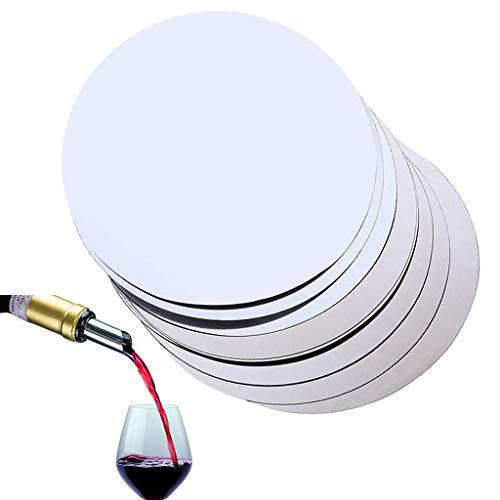 Ouceanwin - 50 unidades de ayuda para servir vino antigoteo – Drop Stop – Tapón de vino reutilizable para restaurante, hotel, bar y casa