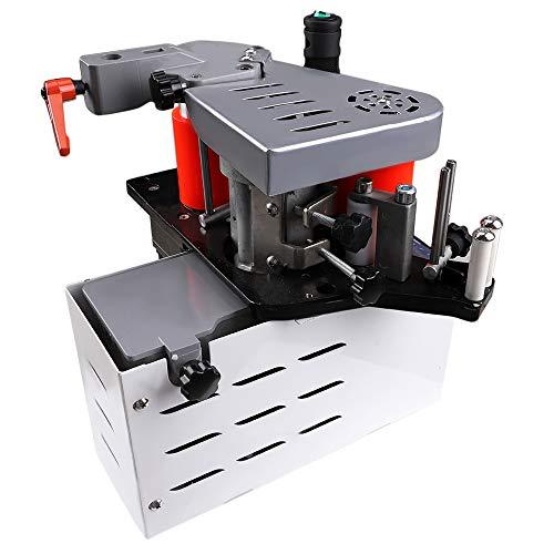 Shuifeng Bordatrice Portatile 10-60mm Bordatrice Portatile Bordatrice Portatile per falegnameria 1-6m / min Bordatrice per Legno 220V