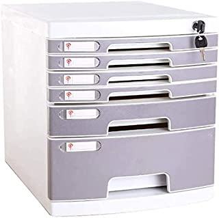 Classeurs WHLONG Informations A4 Papier de Bureau Tiroir fichier Bureau Plastique des ménages Armoire de Rangement (Color ...
