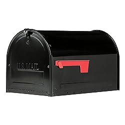 in budget affordable Gibraltar Mailbox MLM16KB1 Marshall Locking Mailbox, Large, Black