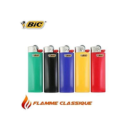 Bic Maxi Feuerzeug mit Zündstein, 5 Stück