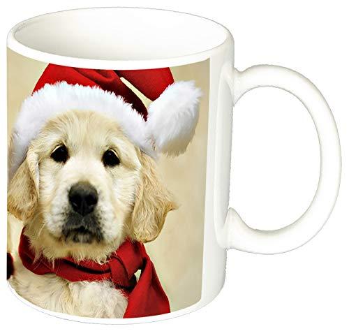 Golden Retriever Santa Claus Tasse Mug