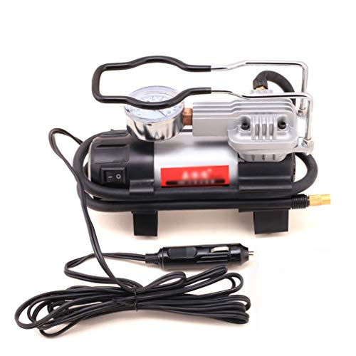 12V Air Compressor Tire Inflator, Portable High Power Vehicle luchtpomp, Can Inflate Cars/Fietsen/Motoren/All Kinds of Balls/Inflatable Boats Etc