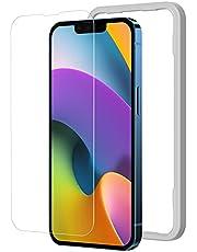 NIMASO ガラスフィルム iPhone13 mini 用 強化 保護フィルム iphone13ミニ 対応 1枚セット ガイド枠付き NSP21I321