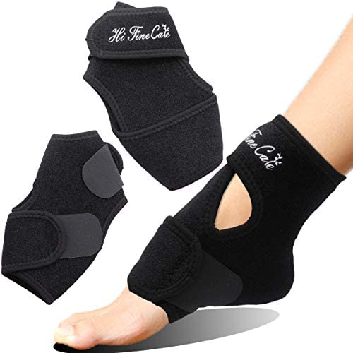 Ankle Brace for Women and Men by RiptGear Adjustable Ankle Support and Compression for Sprained product image