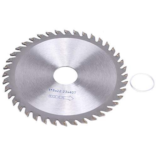 Belissy Discos de corte de carburo de hoja de sierra de la carpintería de disco for el Sierra de mesa Angle Grinder 115 x 22,23 x 40T