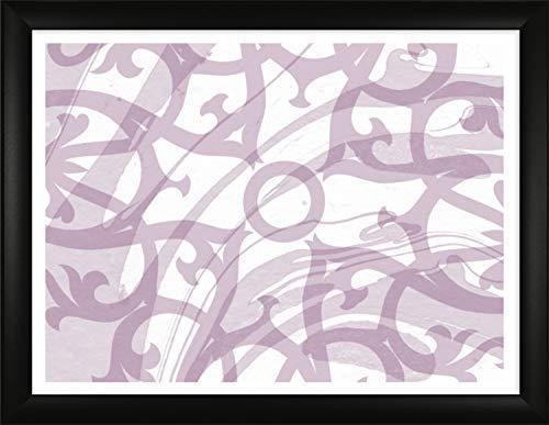 Homedecoration Bilderrahmen Colonia 60 x 90 cm mit leicht abgerundetem Profil in Schwarz matt mit Acrylglas klar 1mm für Bilder Fotos Kunstdrucke Poster Puzzle
