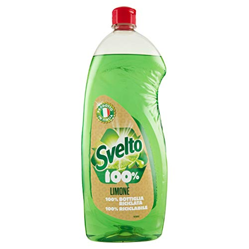 Svelto Detersivo Piatti a Mano con Limone, 1L
