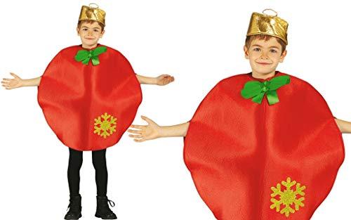 GUIRMA Costume Natalizio Sfera di Natale Palla Albero Bambino