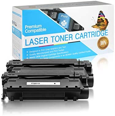 SuppliesOutlet Compatible Toner Cartridge Replacement for HP 11X Q6511X Black 2 Pack product image