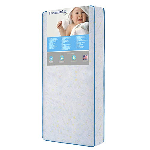 %13 OFF! Dream On Me Twinkle Stars Crib & Toddler 117 Coil Mattress (152-117)