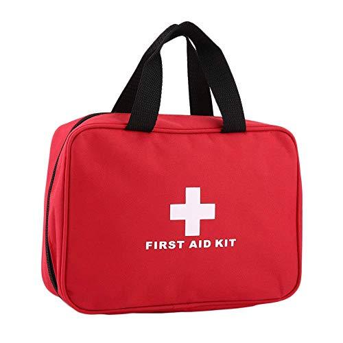 DJY-JY - Kit de primeros auxilios al aire libre para viajes portátil de medicina de primeros auxilios adecuado para la familia, senderismo, coche, camping, etc.