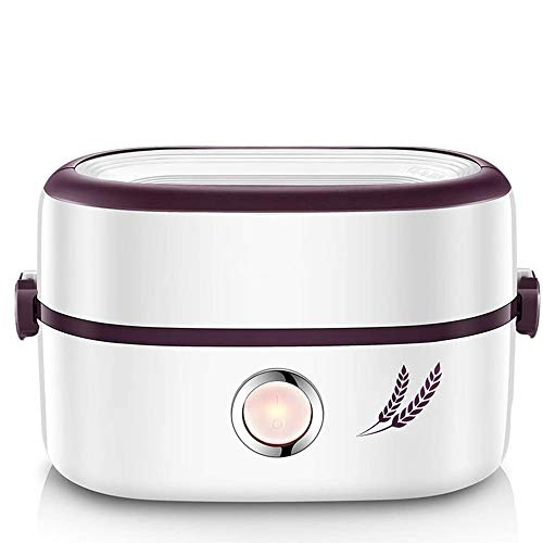 SND-A 1L Elektrische Brotdose, Automatischer Heizungsisolationseimer, Dampfender HeißEr Reiskocher Mit Reisartefakt BüRoangestellter 2 Personen