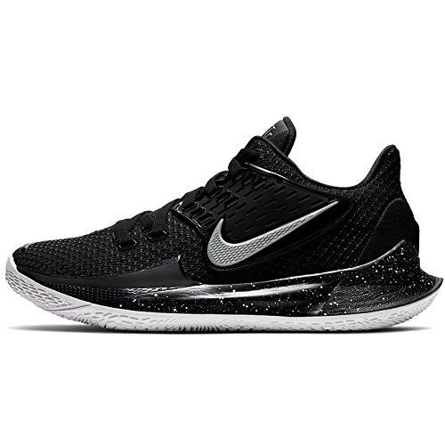 Nike Kyrie Low 2 Mens Av6337-003 Size 9 Black/Metallic Silver